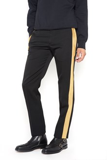 ALEXANDER MCQUEEN Tuxedo trousers with lateral band