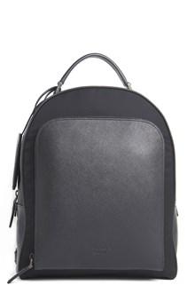 PRADA Leather saffiano backpack