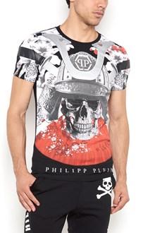 PHILIPP PLEIN crew-neck t-shirt with 'Aizen' print
