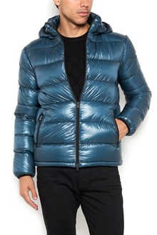 HERNO Padded bomber jacket  with zip closure,hood, and zipped pockets