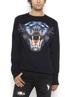 MARCELO BURLON - COUNTY OF MILAN Cotton crewneck 'Panguin' sweater