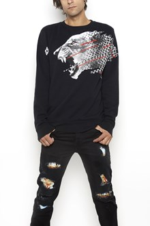 MARCELO BURLON - COUNTY OF MILAN Cotton crewneck 'Sham' sweater
