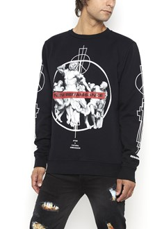 MARCELO BURLON - COUNTY OF MILAN Cotton crewneck 'Fainu' sweater