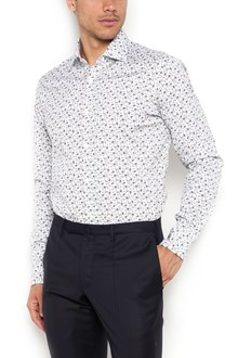 BARBA Cotton all over  flower printed shirt