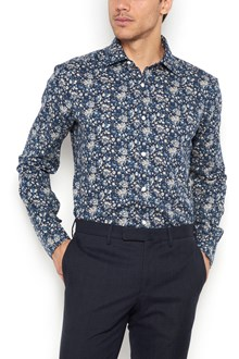 BARBA All over  flower printed shirt