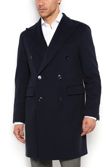 TAGLIATORE Double breasted wool long coat