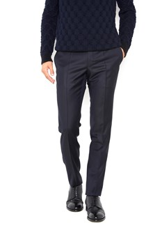 INCOTEX Cashmere 'Venezia Line' skinny straight trousers. Drop 18