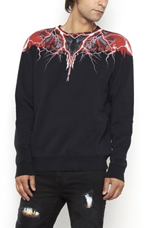 MARCELO BURLON - COUNTY OF MILAN Cotton crewneck 'Worr' sweater