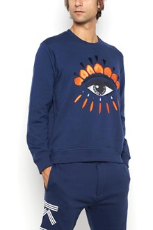 KENZO Cotton sweater with embroidery