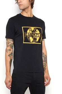 KENZO Cotton crew neck t-shirt with print