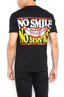 STELLA MCCARTNEY back printed t-shirt with frontal mini embroidery