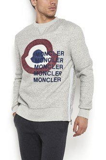MONCLER Frontal macrologo sweatshirt