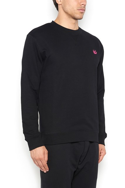 McQ ALEXANDER McQUEEN crewneck sweater with swallow