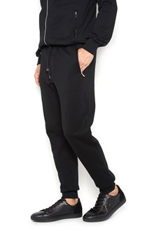 DOLCE & GABBANA tracksuit pants with 'Dolce&Gabbana' plate