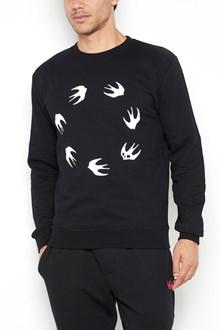 McQ ALEXANDER McQUEEN Swallows printed sweatshirt