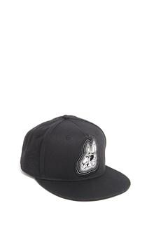 McQ ALEXANDER McQUEEN Baseball cap with 'Rabbit skull' print