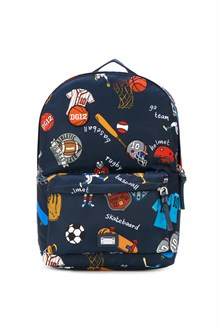 DOLCE & GABBANA nylon 'Sport'  backpack all over printed with zip closure