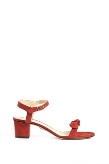 CHARLOTTE OLYMPIA 'Harley' suede sandal with buckle