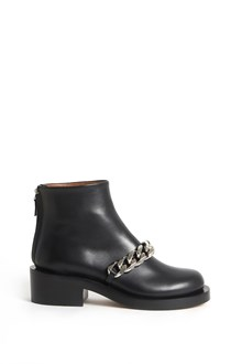 GIVENCHY Chain calf leather  ankle boots