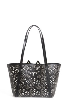 CHARLOTTE OLYMPIA Calf leather 'Mini feline shopper'