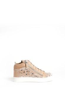 GIUSEPPE JUNIOR High velvet sneaker