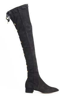 OLGANA PARIS 'Amiral' high  suede boots