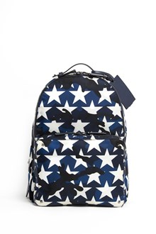 VALENTINO GARAVANI Camouflage and stars printed backpack