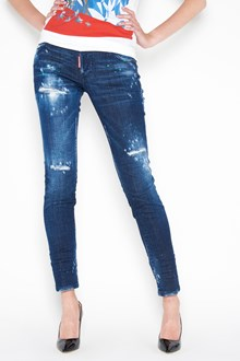 DSQUARED2 Destroyed denim jeans with 5 pockets