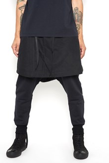 UNRAVEL Sweatpants with side bands and skirt