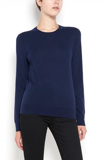 TORY BURCH cashmere pullover with logo buttons on back