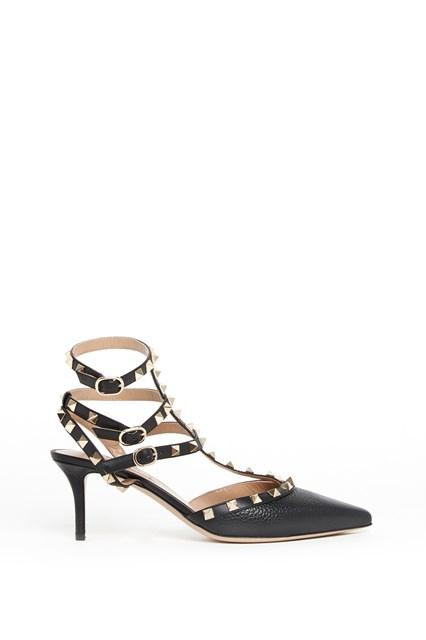 VALENTINO GARAVANI 'Rockstud' calf leather pumps