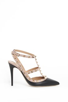 VALENTINO GARAVANI calf leather  'Rockstud' pumps
