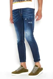 DSQUARED2 Cotton 'Skater' denim destroyed jeans