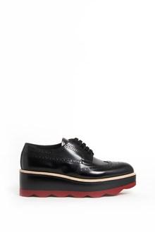 PRADA Wave platform calf leather sneaker