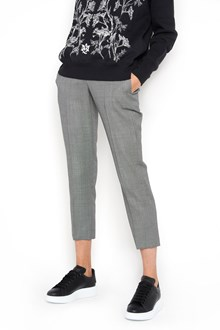ALEXANDER MCQUEEN Cigarette cropped wool trousers