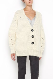 ISABEL MARANT 'Favian' wool and alpaca long sleeves cardigan with buttons closure