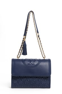 TORY BURCH Leather 'Fleming' convertible shoulder bag