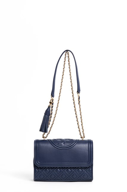 TORY BURCH Leather 'small Fleming' convertible shoulder bag