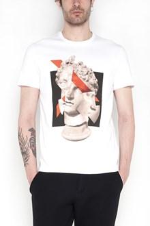 NEIL BARRETT Cotton 'St. Statua' slim fit t-shirt