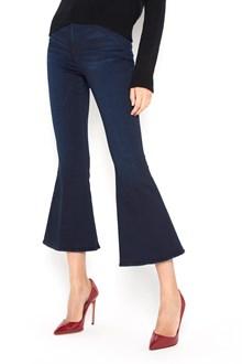 FRAME DENIM ' Le crop bell' dark blue denim trousers