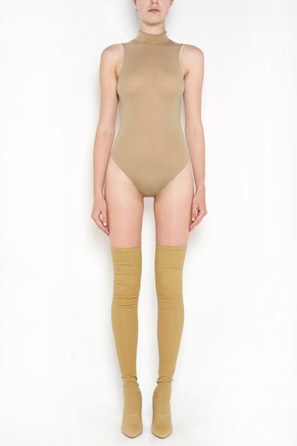 YEEZY high legline sleeveless bodysuit