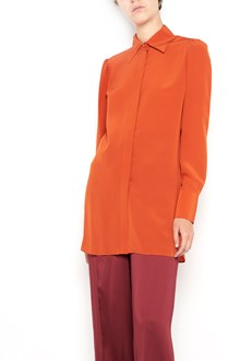VALENTINO crepe de chine long sleeves shirt with  buttons closure