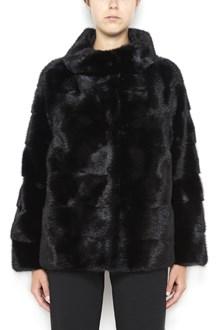 SIMONETTA RAVIZZA 'Nana' mink short  fur coat