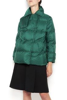 PRADA LINEA ROSSA Double breasted  padded jacket with buttons closure and waistband