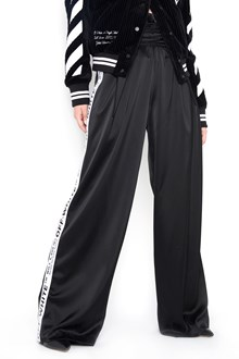 OFF-WHITE Wide pants with logo bands on the side