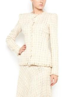 ALEXANDER MCQUEEN tweed jacket with glitter