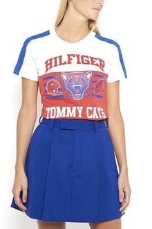 HILFIGER 1/2 sleeves t-shirt  with 'Tommy cats' print