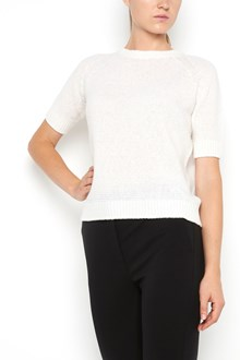 MAX MARA wool 1/2 sleeves  t-shirt