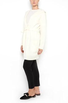 MAX MARA 'Tecla' wool cardigan with hood ,waist belt and pockets