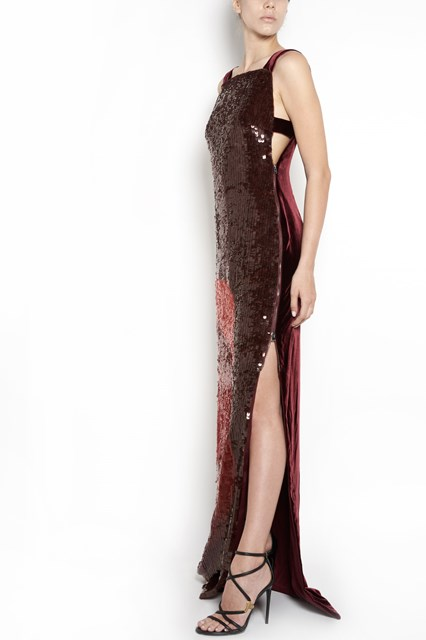 TOM FORD long dress with sequins